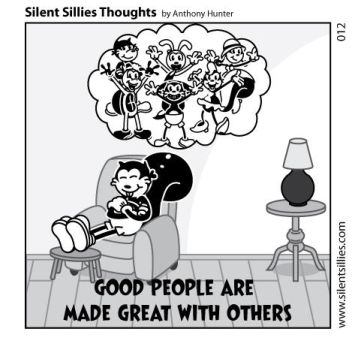 Silent Sillies Thoughts 012 by JK-Antwon