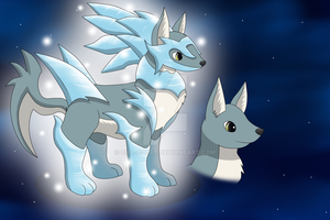 Adopt: Frost Wolf (Closed) by Ciel-Adopt