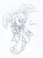 RO - Chibi Priest 1 for 4y4m3 by suga-ovadose