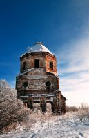 Church of the Dormition of the Theotokos I by Anna-Belash