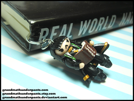 Loki Bookmark by GrandmaThunderpants