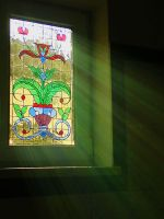 classic stained glass window by alladdyn