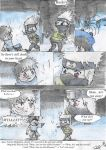 Chibi-Kakashi's fatal slip of the tongue (English) by LadyOfTheMidnight
