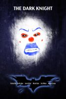 the dark knight movie poster by hfa18