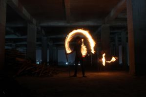 Fire Lightpaint Session @ SOtSK # 4 by personalstash