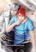 Soul Eater_ Stein and Spirit by Ginger-J