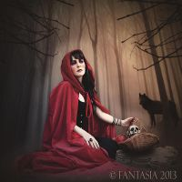 Red Riding Hood By Fantasia 2013 5 by Fantasia-Art