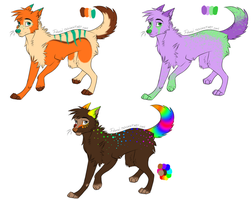 Point Adoptables #1 by Closet-Furry