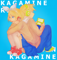 KAGAMINE by sentaidash