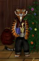 Present tigress by bk-kam