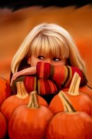 Pumpkin Patch by Malla13