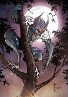 Werewolf color by ANTHONYILLUSTRE