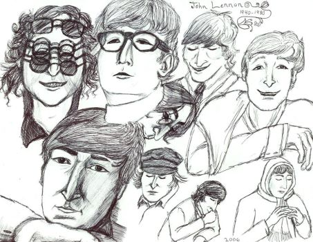 Johnny Collage by Retro-60s