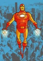 Iron Man Coloured by tyrannus