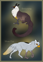 Gryphon Adoptables by DaffoDille