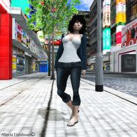 April In second Life Cont. by Aliecia-Lionheart