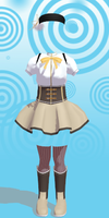 MMD Mami Tomoe outfit Download by 9844