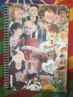 SHINee collage notebook by that-fangirl