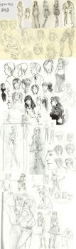 Sketches Spring 2012 by theheadlessgirl