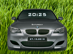 BMW Concept M5 Rainmeter Clock By Achintyagk by achintyagk