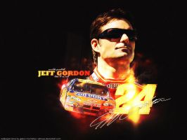 Jeff Gordon by elmoye