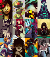 2013 Art Summary by corviday