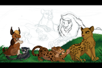 Camp Duty - WIP by kohu-scribbles