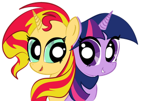 Sunset and Twilight by ForestHeart74