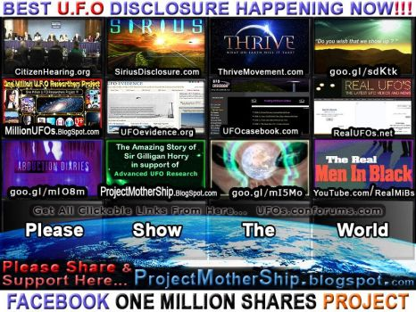 Best Aliens UFOs Disclosure Proof by Sir-Gilligan-Horry