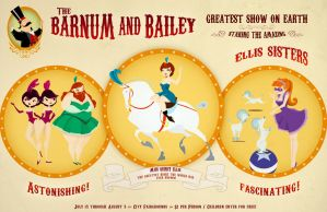 Vintage Circus poster by melito