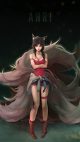 Ahri : New Age by DPremonition