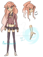 Alexis Reference Sheet (OC) by flarechess