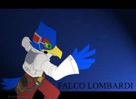 SSBB FALCO LOMBARDI by BlackWingedHeart87