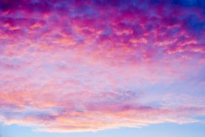 Sunset clouds by puu4ux