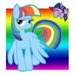 Rainbow Sparkle?? or Twilight Dash?? by PauuhAnthoTheCat