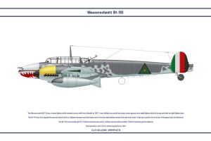 Bf 110 Iraq 1 by WS-Clave
