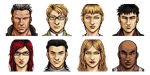 ACH Characters Pixel Portraits by KucingBudhug