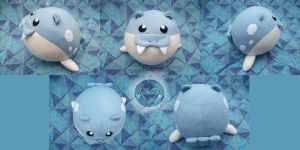 Spheal Plush by Jacqueline-Victoria