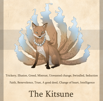 The Kitsune - Personal Meanings by Nin-Wolf
