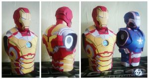 Iron Man Mark XLII Papercraft by suraj281191