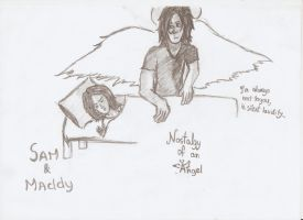 nostalgy of an angel- silent lucidity by BlackLuna2505