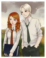 HP - Rose and Scorpius by keerakeera