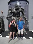 Meeting Mighty Megatron by sonicshadowlover13