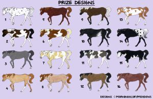 Prize Designs by MorningGloryMeadows