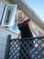 Lady rose at the balcony 03 by gsdark-stock