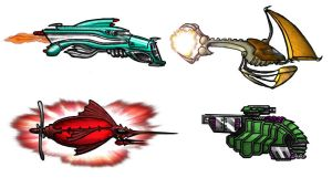 Space Ships by Asurael-Returns