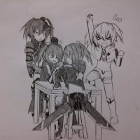 BRS Arm Wrestle by nanayaryuoo