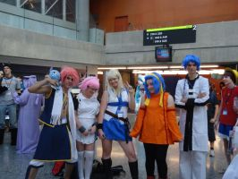 Group cosplay by Sinta54