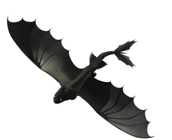 toothless flying by inquisidor69