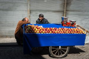 The Apple Sellers by niklin1